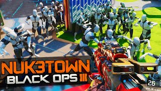 "Black Ops 3 NUK3TOWN - EASTER EGG ""MANIQUIS ZOMBIES""!"