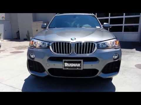 NEW 2015 BMW X3 28I M Sport 20 inch wheels Xdrive