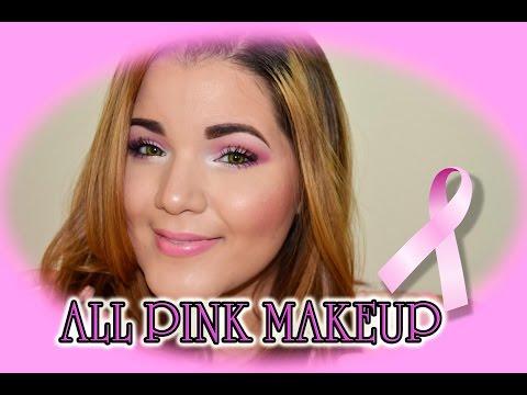 **ALL PINK MAKEUP - Breast Cancer Awareness**