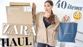 I Ordered 40 Items From Zara 😱 | Huge ZARA Autumn Winter Haul & Try On