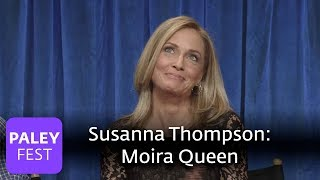 Arrow - Susanna Thompson Talks About Playing Moira Queen | Family Dynamics and What's Next