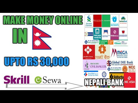 BEST ONLINE JOB IN NEPAL - MAKE MONEY ONLINE UPTO RS 30,000 A MONTH PAYMENT IN ESEWA & NEPALI BANK