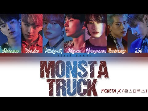 Download MONSTA X 몬스타엑스 – Monsta Truck Color Coded s Han/Rom/Eng/가사 Mp4 baru