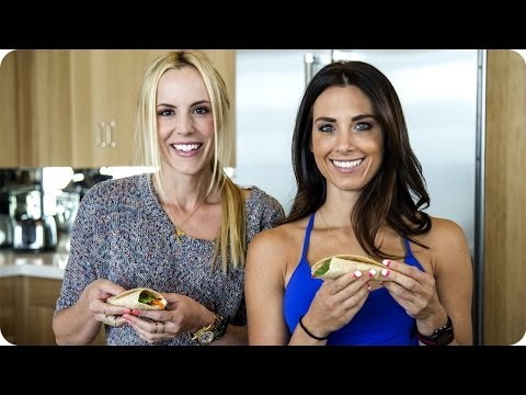 Healthy Breakfast Burrito Recipe—High Protein Low Fat | Autumn Fitness