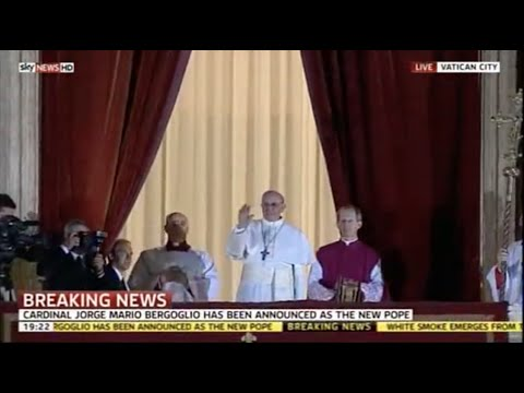 Habemus Papam! Pope Francis election on Sky News