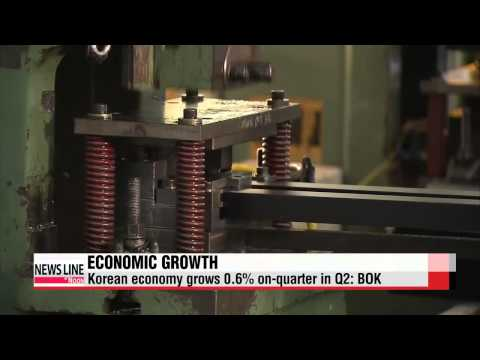 Korea's economic growth climbed at slowest pace in Q2