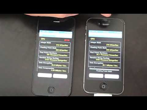 iPhone 5 vs iPhone 4S - Four Different Benchmark Tests