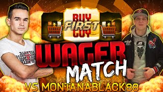 FIFA 15 : MONTANABLACK VS. FEELFIFA - BUY FIRST GUY WAGER MATCH !! [FACECAM] HD