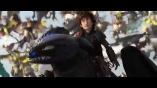 How To Train Your Dragon 2 Toothless Vs Bewilderbeast  Ending Scene Major Spoilers
