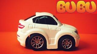 Xe Đồ Chơi | Bé Tiba Chơi Trò Đua Xe Ô Tô Hoạt Hình Racing Car Toy Crash For Kids -Play Doh BuBu TV
