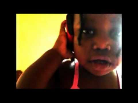 Baby Keniana On Phone Funny Girl [1year 3months] video