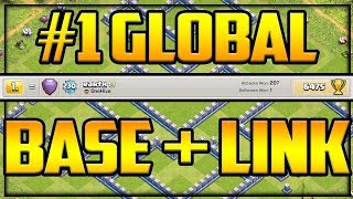 #1 GLOBAL Player Gives YOU HIS Base in Clash of Clans!