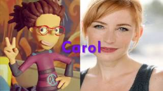 Clay Kids   Characters & Voice Actors