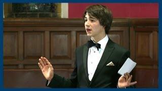Crawford Jamieson | Gay Rights Debate | Oxford Union