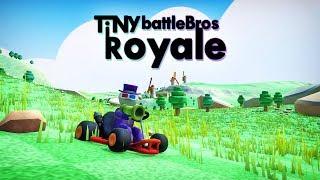 MARIO KART and FORTNITE - TiNy Battle Bros Royale - BIG Update