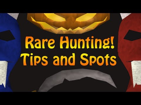 Runescape 2007: Tips for Rare Hunting + Some Spots