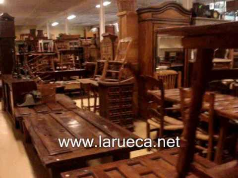 Muebles y antiguedades la rueca paseo parte 1 youtube for Outlet de muebles df