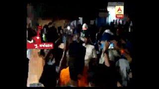 Accident at Guskara, death of 11 years old, road blocked