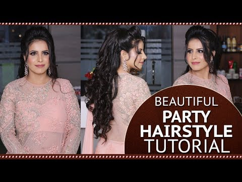 Beautiful Party Hairstyle Tutorial | New Hairtsyle Video for Girls | Step By Step Hair Tutorials