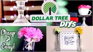 Dollar Store DIY ROOM DECOR - Cheap & Easy | SoCraftastic