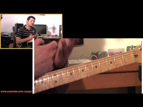 Jimi Hendrix Castles made of sand lesson Part 2