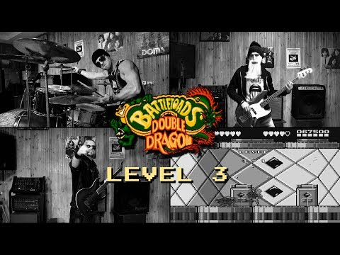 Battletoads & Double Dragon NES - level 3 (cover by Eflavia)