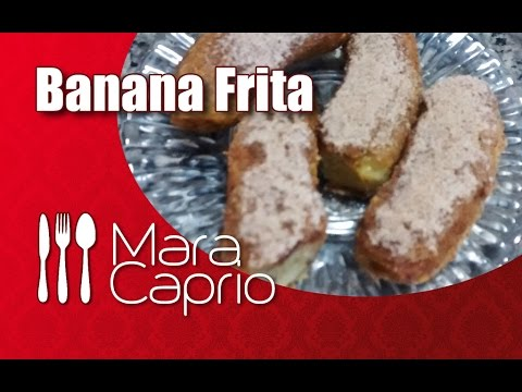 Banana Frita Com Canela Banana Frita Com Canela e