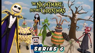 Nightmare Before Christmas Toys Series 6 - Diamond Select Action Figures Unboxing