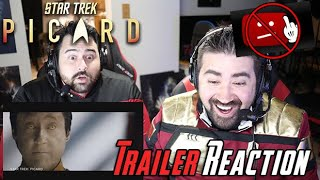 Star Trek: Picard Angry Trailer Reaction! [Re-upload]