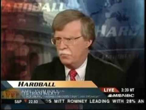Chris Matthew on neocon John Bolton