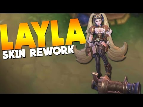 Mobile Legends Layla Skin Rework First Look!