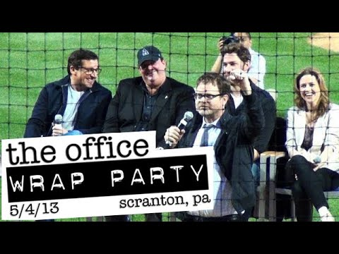 'THE OFFICE' Wrap Party Farewell Celebration: PNC Field, Scranton 5/4/2013 - FULL CELEBRATION in HD