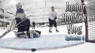 Junior Hockey Vlog Ep 4: Follow Dress Code or You Don't Play | Mic'd GoPro Hockey