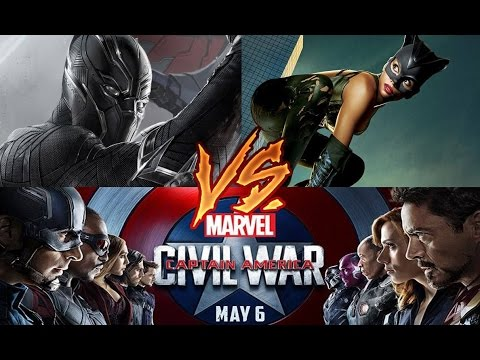 Black Panther & Catwoman v Captain America & The Avengers Trailer [HD] (MDCU)