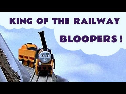 Thomas The Tank Engine King Of The Railway Funny Accidents Crashes Bloopers Kids Toy Train Set