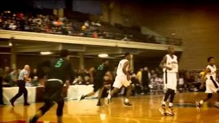 Boys Basketball: Taurean Thompson skies for emphatic put-back dunk vs. Patrick School