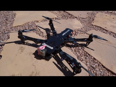 TBS discovery build video. sunny sky 980kv DJI Naza lite Grupner 8