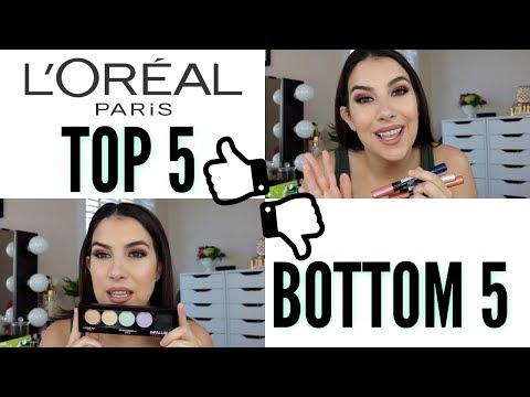 Top 5 Bottom 5: L'OREAL MAKEUP