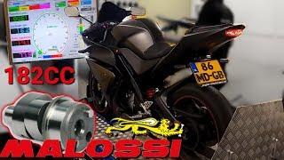 FULL MALOSSI!! || Dyno test results || YZF-R125