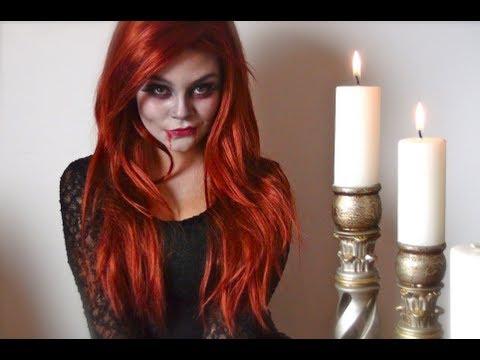 Sexy Vampire (Vampira Sexy) Tutorial de Maquillaje - Halloween