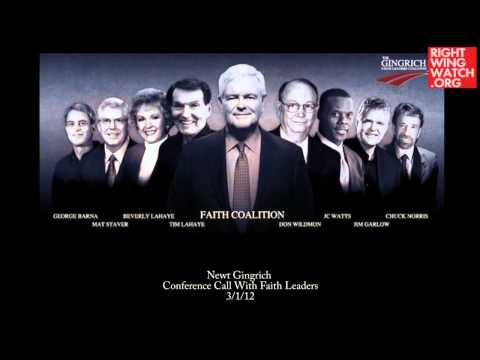 Gingrich Attacks Same-sex Marriage, Blames Teachers video
