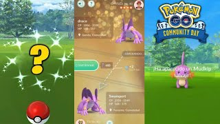 BRUTAL COMMUNITY DAY de MUDKIP !! CONSIGO 100% DE HUEVO & SHINY INESPERADO !! - Pokemon Go