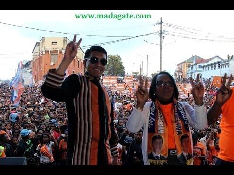 Mapar à Fianar avec Andry Rajoelina 24 juillet 2015