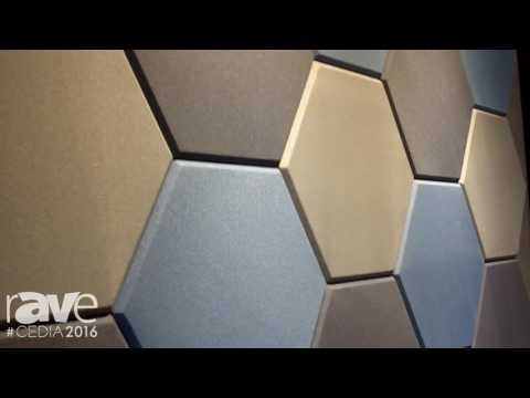CEDIA 2016: Wallscapes Intros New Geometric Acoustical Panel