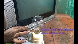 Download How To Repair Power Problem Of A CRT Color Television (Part 1) - Bengali Tutorial 3Gp Mp4