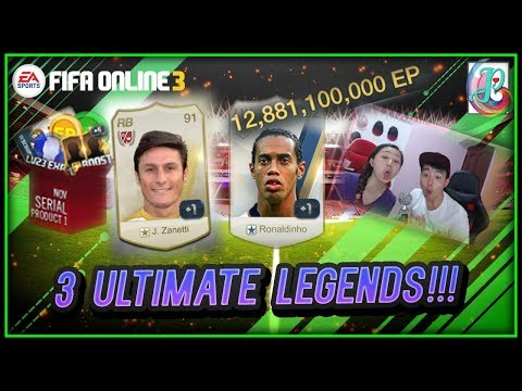 ~3 ULTIMATE LEGENDS!!!~ NOVEMBER SERIAL PACKAGE OPENING 2018 - FIFA ONLINE 3