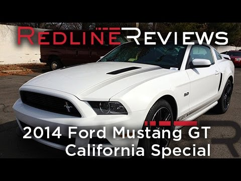 2014 Ford Mustang GT California Special Review. Walkaround. Exhaust. Test Drive