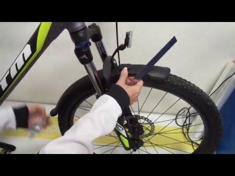 Как сделать крыло для горного велосипеда своими руками