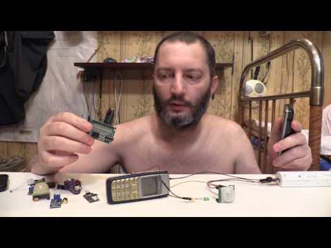 Самая простая сигнализация для дома, дачи, гаража - своими руками Лайфхак GSM alarm HC-SR501 Arduino