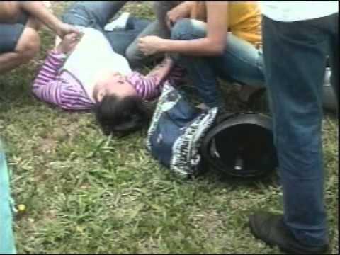 Mulher fratura perna em acidente com carro em Ituiutaba